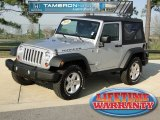 2010 Bright Silver Metallic Jeep Wrangler Rubicon 4x4 #60805279