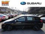 2012 Obsidian Black Pearl Subaru Impreza 2.0i 5 Door #60839301