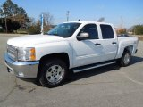 2012 Summit White Chevrolet Silverado 1500 LT Crew Cab 4x4 #60805261