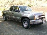 2007 Graystone Metallic Chevrolet Silverado 1500 Classic LT Extended Cab 4x4 #60839247