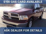 2011 Deep Cherry Red Crystal Pearl Dodge Ram 1500 SLT Quad Cab 4x4 #60839639