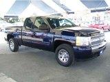 2010 Imperial Blue Metallic Chevrolet Silverado 1500 LS Extended Cab 4x4 #60839246