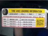 2010 Chevrolet Silverado 1500 LS Extended Cab 4x4 Info Tag