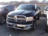 2012 Black Dodge Ram 1500 Big Horn Quad Cab 4x4 #60839627