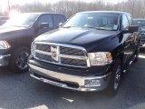 2012 Black Dodge Ram 1500 Big Horn Crew Cab 4x4 #60839612