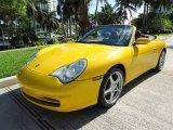 2002 Porsche 911 Speed Yellow