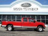 2003 Flame Red Dodge Ram 1500 SLT Quad Cab 4x4 #60805023