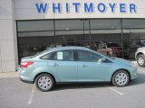 2012 Frosted Glass Metallic Ford Focus SE Sedan #60839568