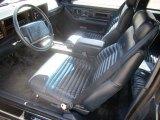 1990 Cadillac Eldorado Interiors