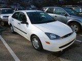 2003 Cloud 9 White Ford Focus LX Sedan #60804768
