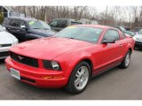 2007 Torch Red Ford Mustang V6 Deluxe Coupe #60907611