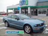 2005 Windveil Blue Metallic Ford Mustang GT Deluxe Coupe #60907487