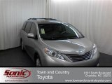 2012 Silver Sky Metallic Toyota Sienna XLE #60907467