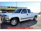 2002 Summit White Chevrolet Silverado 1500 LS Extended Cab #60907452