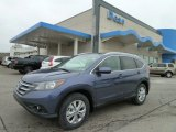 2012 Twilight Blue Metallic Honda CR-V EX-L 4WD #60907561