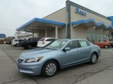 2012 Celestial Blue Metallic Honda Accord LX Sedan #60907560