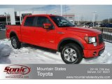 2011 Race Red Ford F150 FX4 SuperCrew 4x4 #60907297