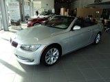 2012 Titanium Silver Metallic BMW 3 Series 328i Convertible #60907418