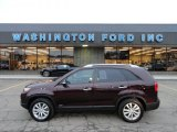 2011 Dark Cherry Kia Sorento EX AWD #60907416