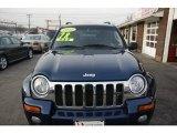 2002 Patriot Blue Pearlcoat Jeep Liberty Limited 4x4 #60907393