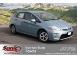 2012 Sea Glass Pearl Toyota Prius 3rd Gen Three Hybrid #60930012