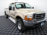 2000 Harvest Gold Metallic Ford F250 Super Duty XLT Extended Cab 4x4 #60934756