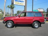 1994 Toyota Land Cruiser Medium Red Pearl Metallic
