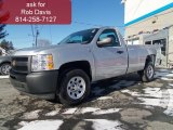2012 Silver Ice Metallic Chevrolet Silverado 1500 Work Truck Regular Cab 4x4 #60934452