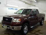 2006 Dark Toreador Red Metallic Ford F150 XLT SuperCab 4x4 #60934890