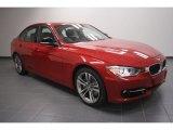 2012 Melbourne Red Metallic BMW 3 Series 335i Sedan #60934706
