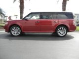 2010 Red Candy Metallic Ford Flex Limited #60934434