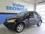 2010 Crystal Black Pearl Honda CR-V EX-L AWD #60934414