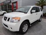 2012 Blizzard White Nissan Armada SV #60934838