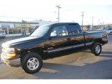 1999 Onyx Black Chevrolet Silverado 1500 LS Extended Cab 4x4 #60934662