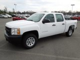 2011 Summit White Chevrolet Silverado 1500 Crew Cab 4x4 #60934809