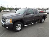 2011 Taupe Gray Metallic Chevrolet Silverado 1500 LT Extended Cab 4x4 #60934807
