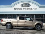 2012 Pale Adobe Metallic Ford F150 Lariat SuperCrew 4x4 #60934592