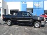 2003 Black Chevrolet Silverado 2500HD LT Extended Cab 4x4 #60934579