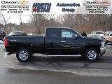 2012 Black Chevrolet Silverado 1500 LT Extended Cab 4x4 #60934576