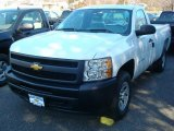 2012 Summit White Chevrolet Silverado 1500 Work Truck Regular Cab 4x4 #60973332