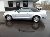 2007 Satin Silver Metallic Ford Mustang V6 Deluxe Convertible #60973887