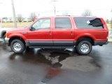 2001 Toreador Red Metallic Ford Excursion XLT 4x4 #60973886