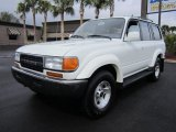 1994 Toyota Land Cruiser White