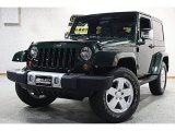 2010 Natural Green Pearl Jeep Wrangler Sahara 4x4 #60973285