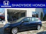 2003 Twilight Blue Metallic Ford Focus ZX5 Hatchback #60973264