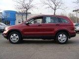 2009 Tango Red Pearl Honda CR-V LX 4WD #60973833