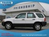 2003 Oxford White Ford Escape XLS V6 4WD #60973257