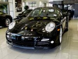 2012 Black Porsche 911 Turbo S Cabriolet #60973248