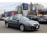 2010 Polished Metal Metallic Acura TSX V6 Sedan #60973242