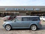 2010 Steel Blue Metallic Ford Flex Limited EcoBoost AWD #60973494
